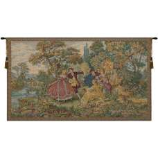 Minuetto Piccolo Italian Tapestry Wall Hanging