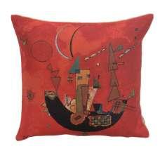 Kandinsky's Mit und Gegen European Cushion Covers