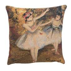 Degas Deux Dansiuses Small European Cushion Covers