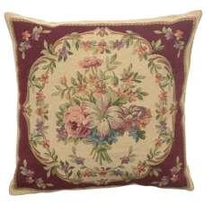 Bouquet Floral Red European Cushion Cover