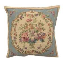 Bouquet Floral Blue European Cushion Cover