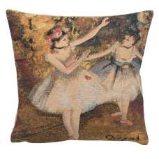 Degas Deux Dansiuses Large European Cushion Covers