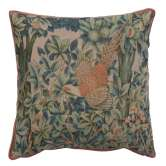 A Pheasant In A Forest Large French Tapestry Cushion