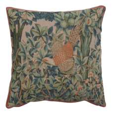 A Pheasant In A Forest Large Decorative Tapestry Pillow