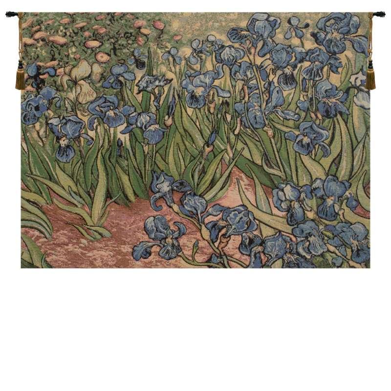 Iris Small by Van Gogh Italian Tapestry Wall Hanging