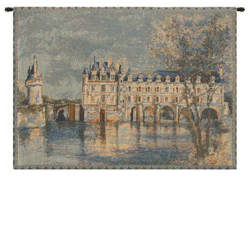 Chenonceau Castle Small European Tapestry