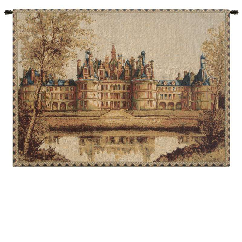 Chambord Castle Small European Tapestry