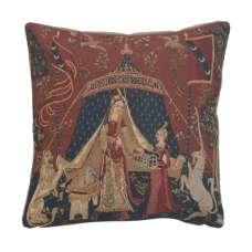 A Mon Seul Desir Dark European Cushion Cover
