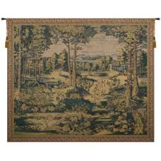 Sylvan Forest Belgian Tapestry Wall Hanging