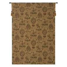 Unicorn Crest Pattern European Tapestry