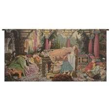 Sleeping Beauty Italian Horizontal Italian Tapestry Wall Hanging