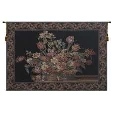 The Vase in Black European Tapestry