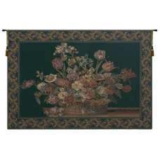 The Vase in Green European Tapestry