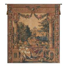 Chateau de Versailles II French Tapestry Wall Hanging