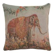 Elephant I Small French Tapestry Cushion