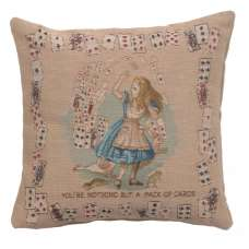 The Pack of Cards French Tapestry Cushion