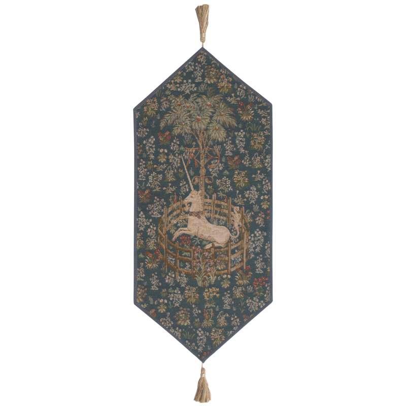 Licorne Captive Bleu Small Tapestry Table Linen