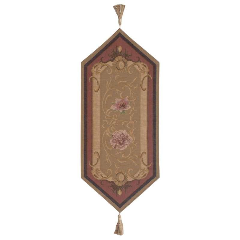 Josephine Light Small French Tapestry Table Runner