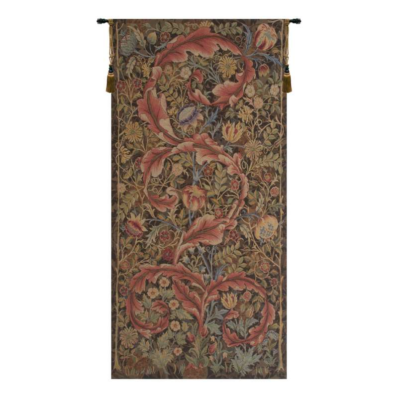 Acanthe Brown Medium French Tapestry