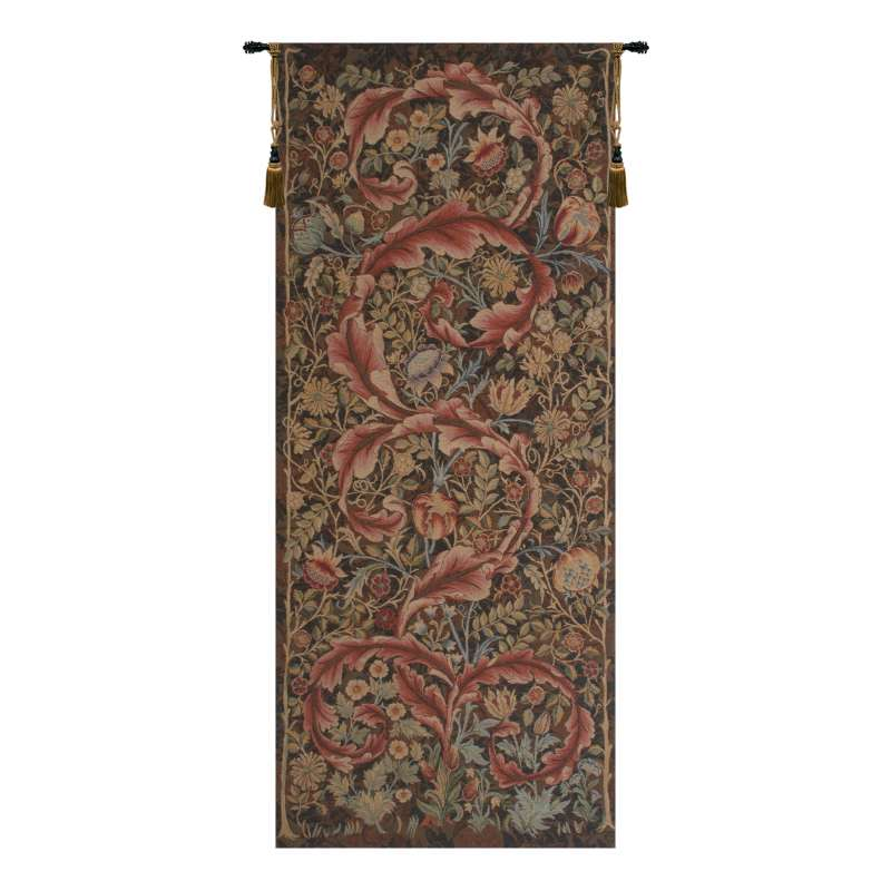 Acanthe Brown Large French Tapestry