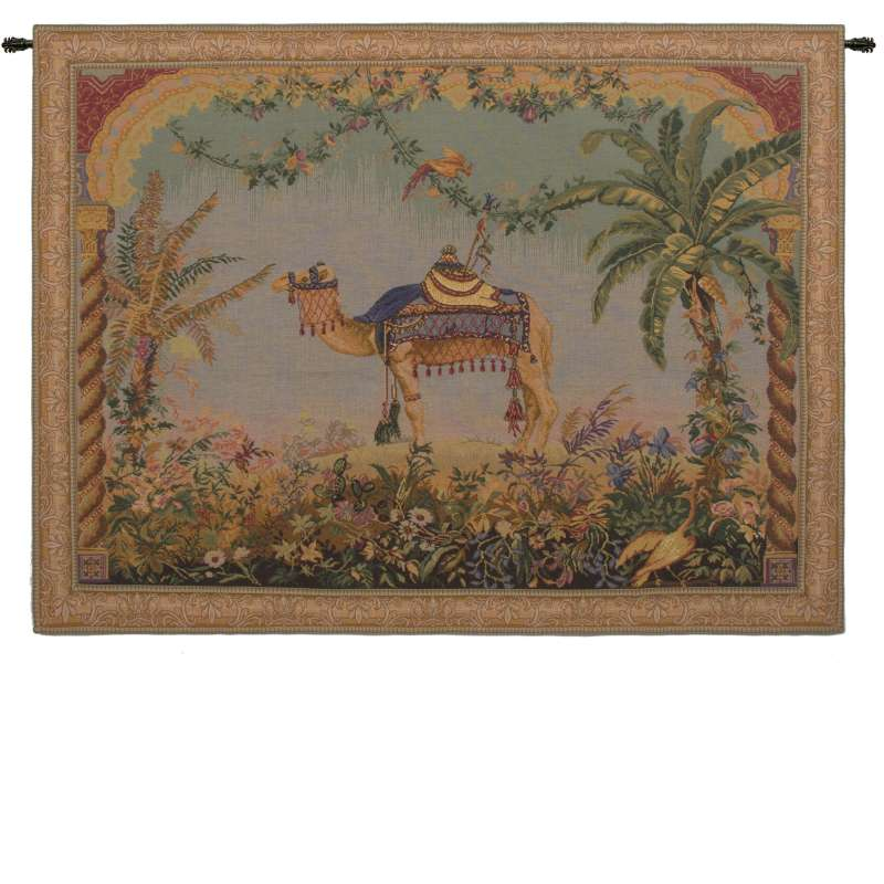 The Camel Large with Border French Tapestry