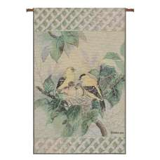 Nature's Harmony II Tapestry Banner