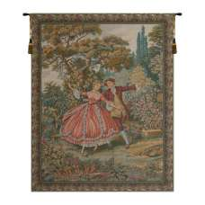 Danza Small Italian Tapestry Wall Hanging
