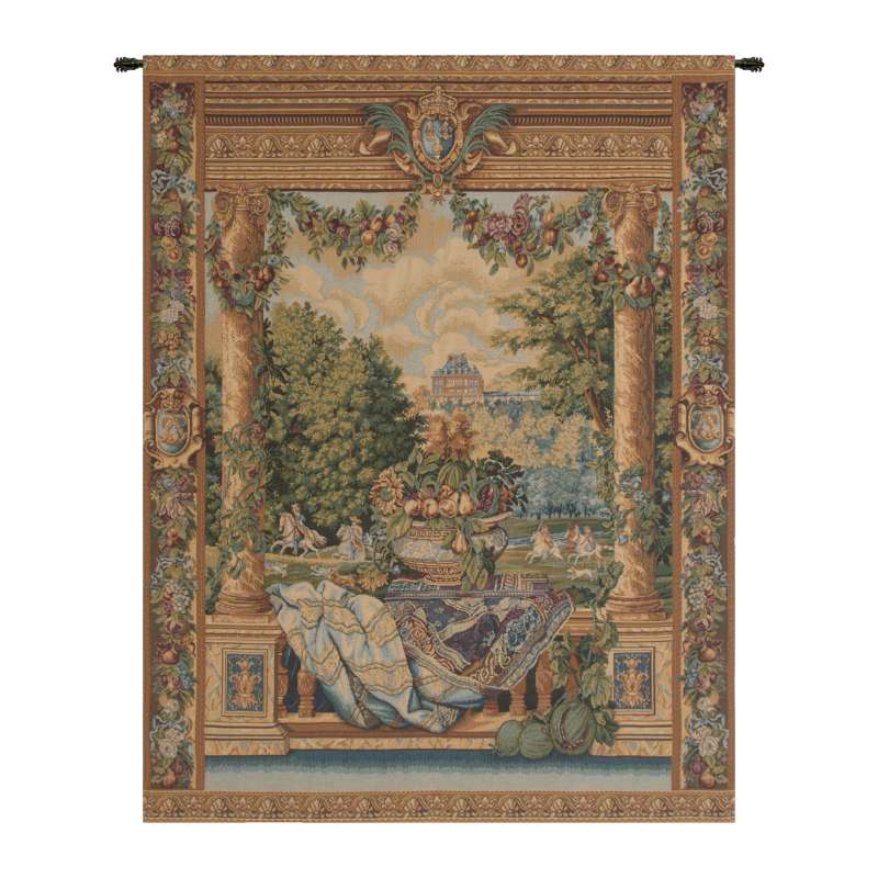 Versailles Castle Italian Tapestry Wall Hanging