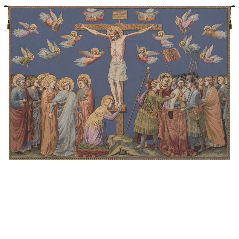 Crocifissione Italian Tapestry Wall Hanging