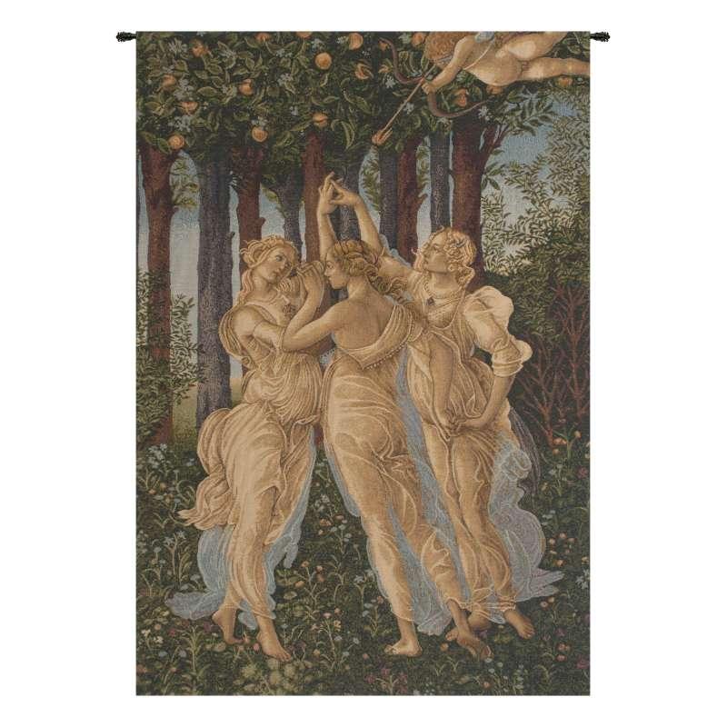 Tre Grazie Italian Tapestry Wall Hanging