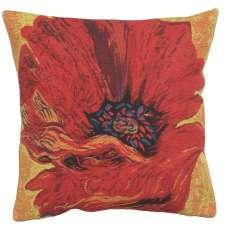 Poppy Red II European Cushion Covers