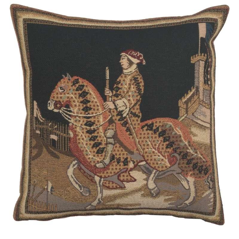 Knight Of Siena European Cushion Covers