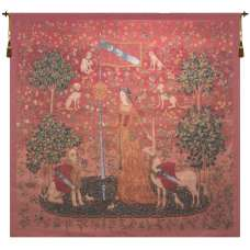 The Touch III French Tapestry Wall Hanging
