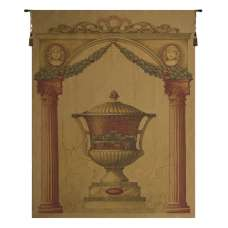 Olde World Filigree Urn Gold European Tapestry