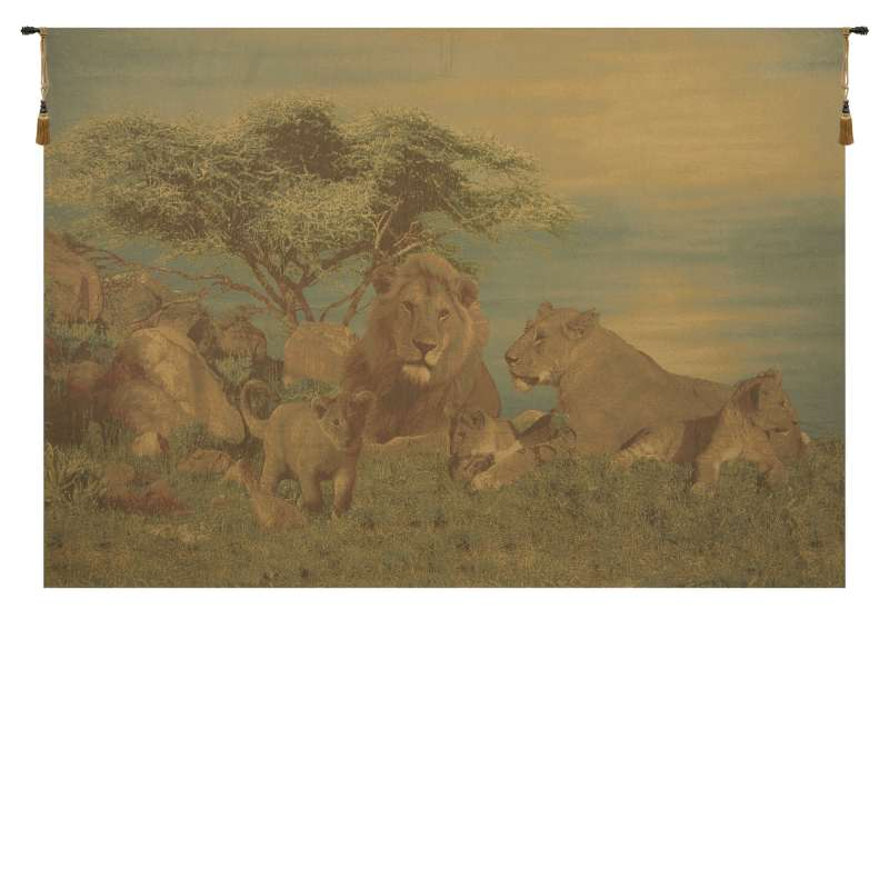 Lions Pride European Tapestry