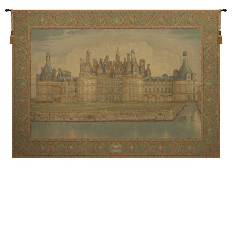Chambord Castle Large European Tapestry