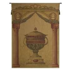 Filigrie Urn Pediment European Tapestry