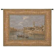 Florence from the Arno Italian Tapestry
