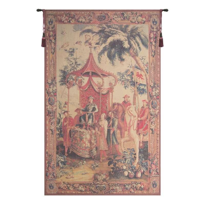L'Emperor En Voyage Flanders Tapestry Wall Hanging