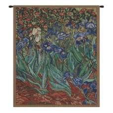Les Iris Mini Belgian Tapestry