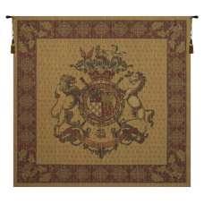 Honni Soit Qui Mal Y Pense Square European Tapestry