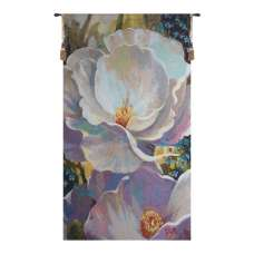 Evening Song Belgian Tapestry Wall Hanging