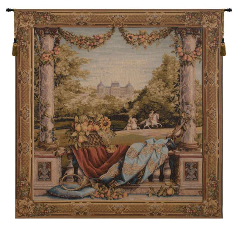 Chateau Bellevue (Square) French Tapestry