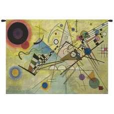 Kandinsky Composition VIII European Tapestry