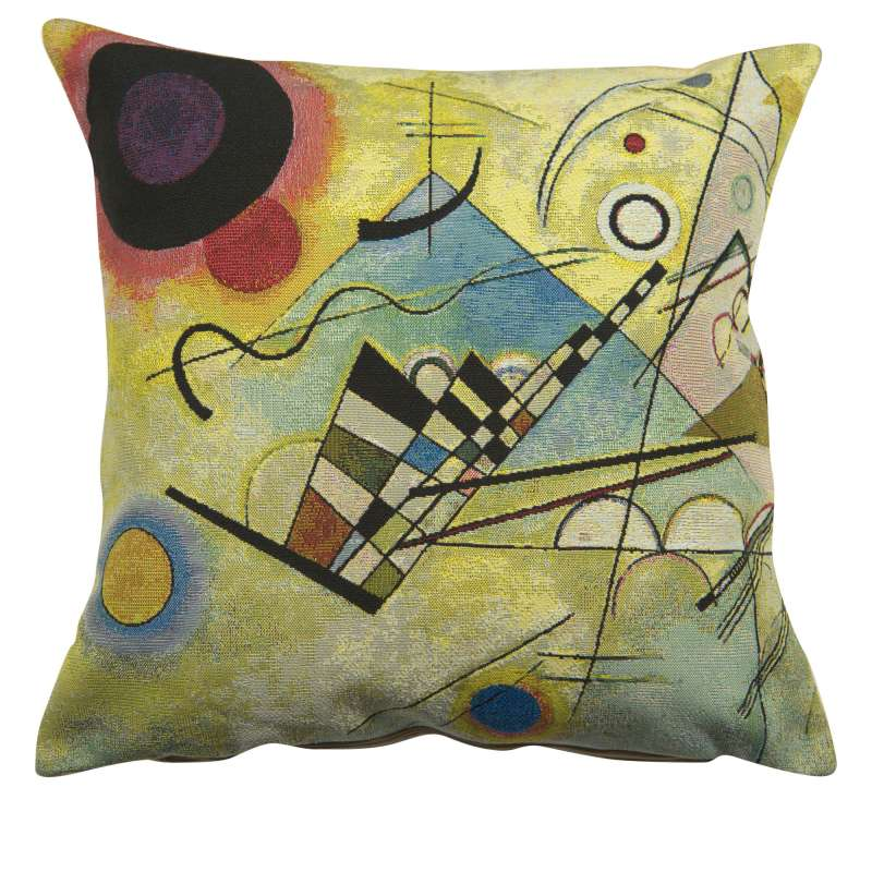 Composition VIII by Kandisnky European Cushion Cover