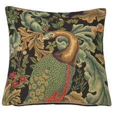 Peacock by William Morris European Cushion Cover