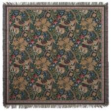 Golden Lily by William Morris European Throws