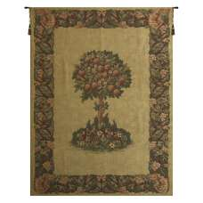 The Orange Tree Chenille European Tapestry Wall Hanging