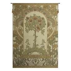 Rose Bush Beige European Tapestry