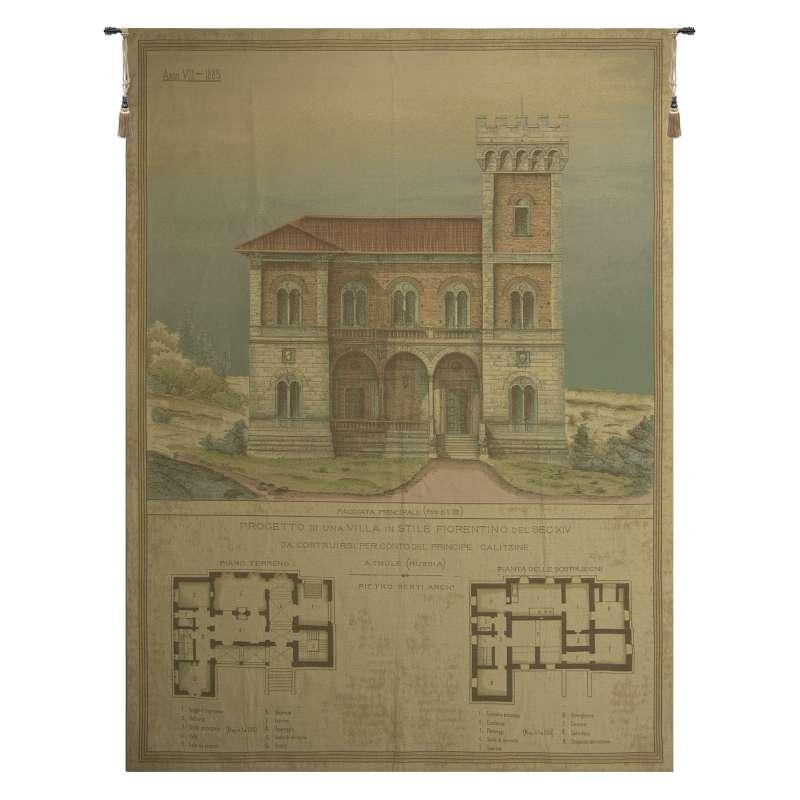 Progetto di Una VIlla in Stile Fiorentino European Tapestry